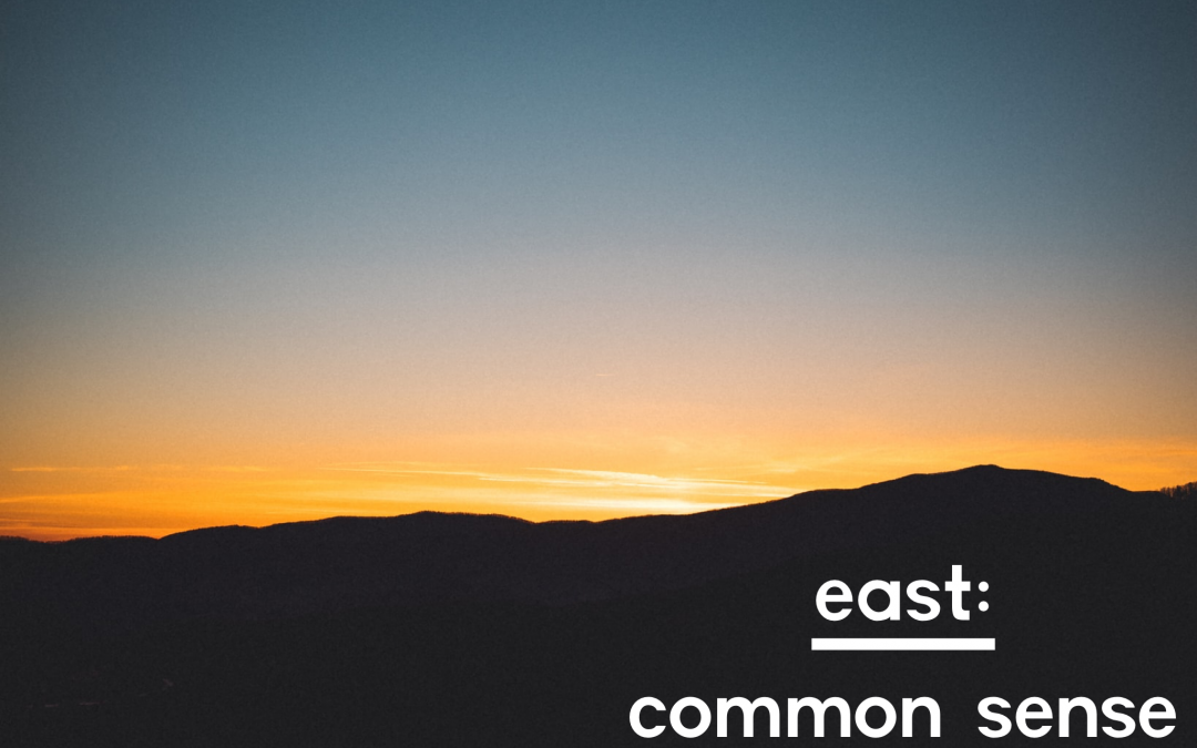 east common sense forest school