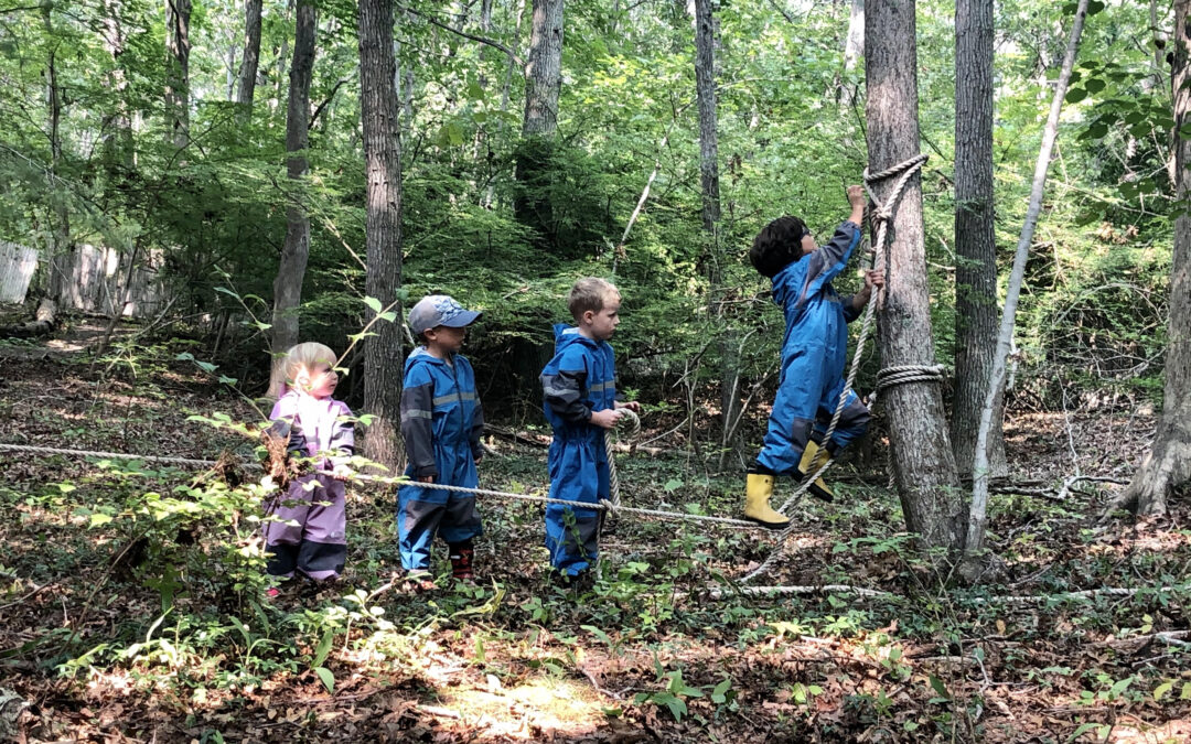 Building Community (and Kingdoms) at Forest School