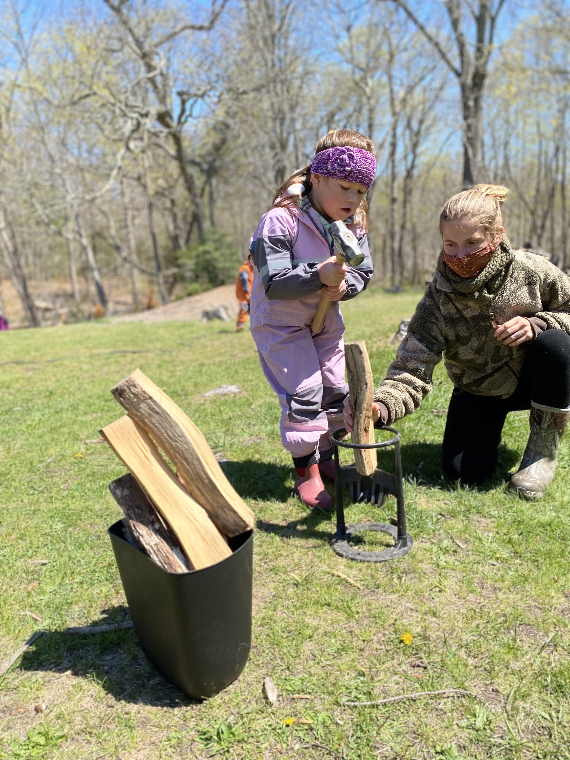 risky play, tool, aishling forest school, forest school