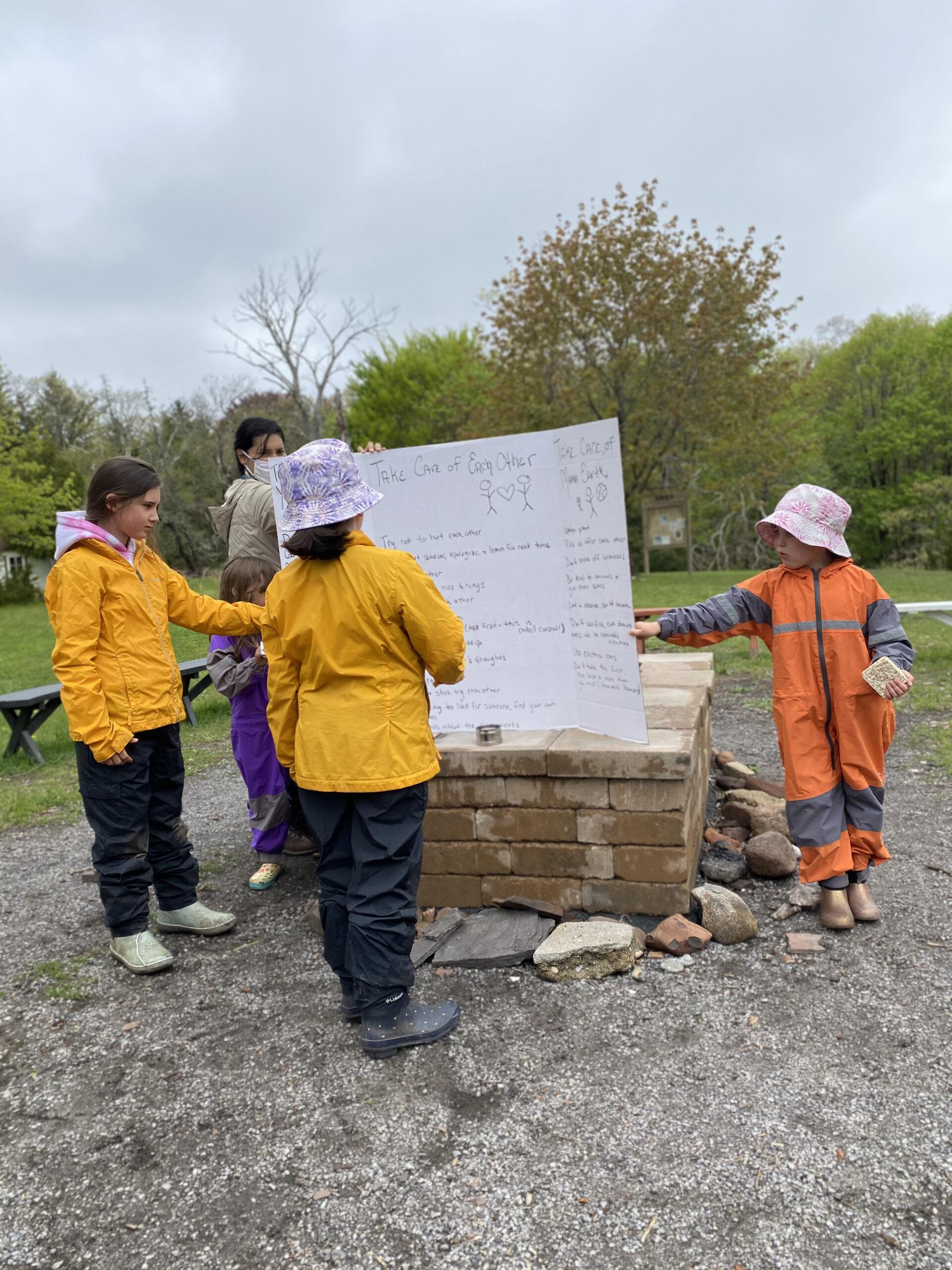 aishling forest school, child-led learning